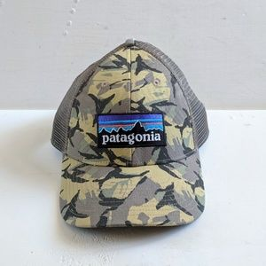 Patagonia Camo Trucker Hat Cap
